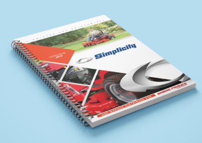 Mini catalogue Simplicity 2018 - couverture